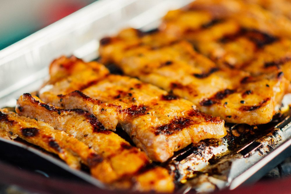 Healthy Italian Pork Belly Strips