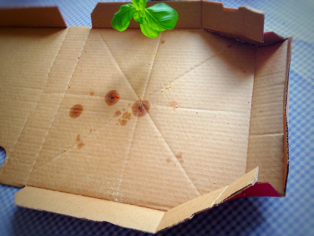 healthy italian pizza box