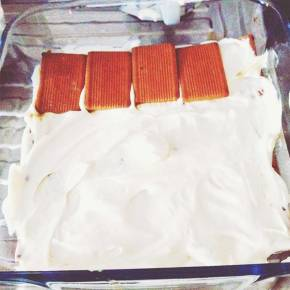 Healthy Italian Tiramisu cream