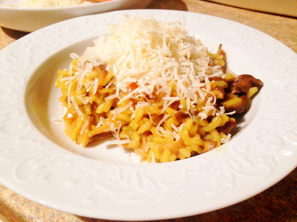 Healthy Italian Risotto alla Milanese
