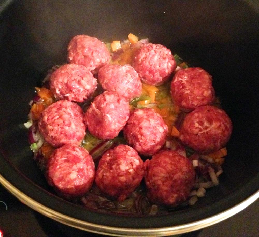 Traditional Italian Meatballs in Tomato Sauce